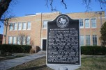 Blackshear Elementary with Plaque