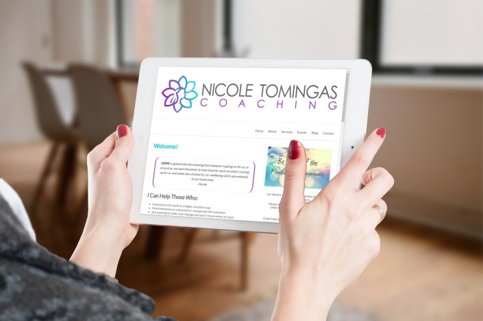 Nicole Tomingas Website Design Newmarket - Rosewood VA Online Marketing Aurora