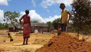 Miners at Antsirabe. Photo: Rosey Perkins