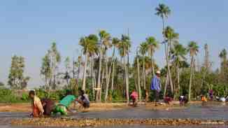 Washing gravels in River Ilakaka, Ilakaka. Photo: Rosey Perkins