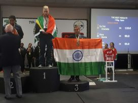 Shweta Sethi Sahni won Gold Medal in Commonwealth Powerlifting Championship