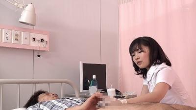 「早漏の相談中に我慢できず暴発したら優しくゆっくり改善セックスしてくれた看護師さん」 VOL.3サンプル5
