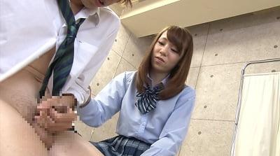 真面目女子校生がネチネチとチ○ポをバカにしながらセンズリ鑑賞サンプル8