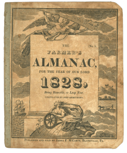 The Farmers Almanac for 1823