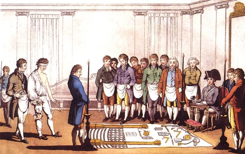 Freemason Initiation