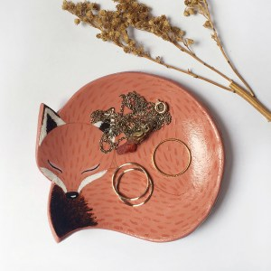 Jewelry Bowl Fox | Rosie and the Raven