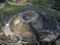 Herodium From Above. Courtesy Asaf T.