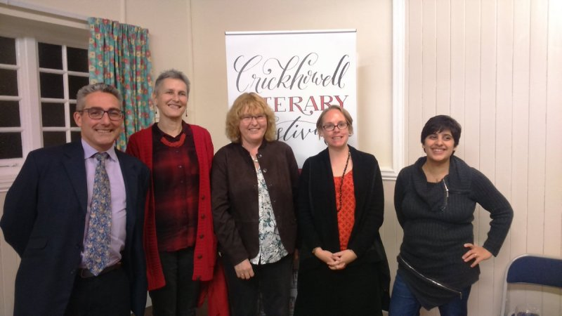Crime Cymru at Crickhowell Literary Festival