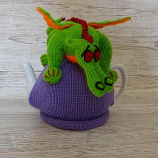 knitted dragon