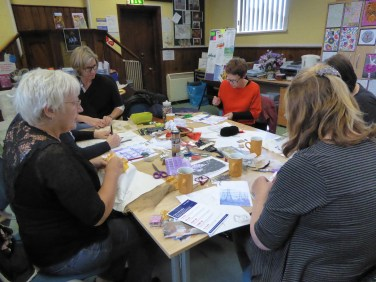 stitching at Grain Library