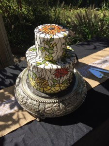 rosies creative cakes raves stained glass
