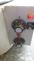 the machine light on whilst its been used