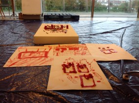 work from artists residency