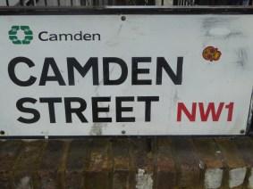 Camden street sign