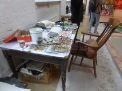 The painters studio