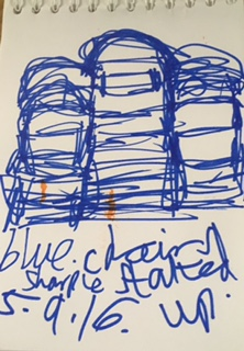 chair stacked up blue sharpie 5.9.16