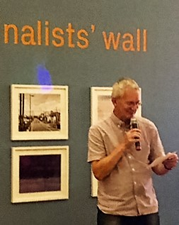Reading out the finalists r names Martin Parr
