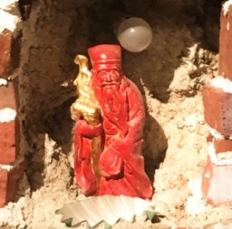 Framed and Frame Miniature Reproduction Chinatown by Mike Kelley Red Priest featured