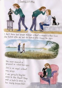 A page from Plum's blog featuring my family friend