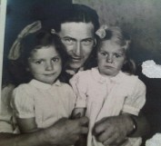 Dad, me (L) and Gillian