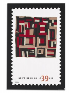 Gee's Bend Quilts Stamp (click)
