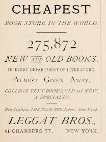 Cheap Books in 1883