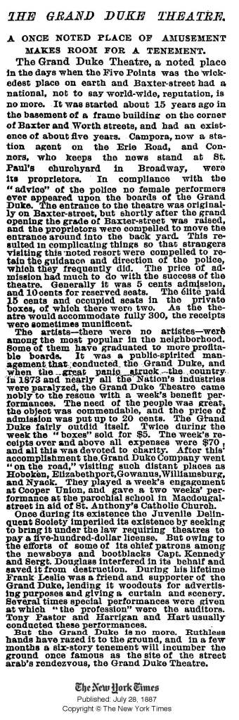 NYT 28 July 1887