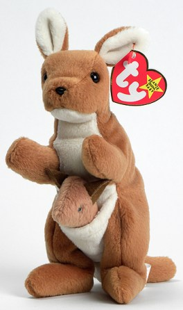 Beanie Kangaroo Baby