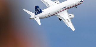 Самолет Sukhoi Superjet-100. Фото: Евгений Одиноков / РИА Новости