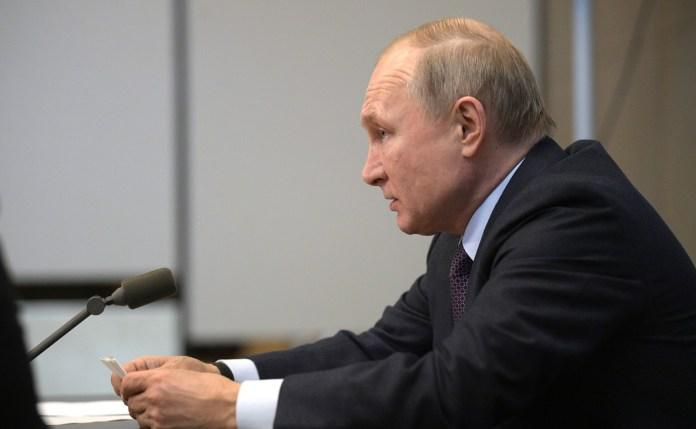 Путин. Фото: kremlin.ru