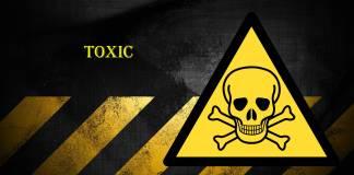 опасно, токсично