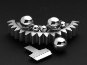 Shot peening increases the fatigue life of components exposed to dynamic stress, for example, of a toothed gear component
