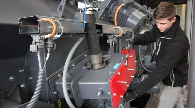 A blast from the past – rebuilding a shot blast machine