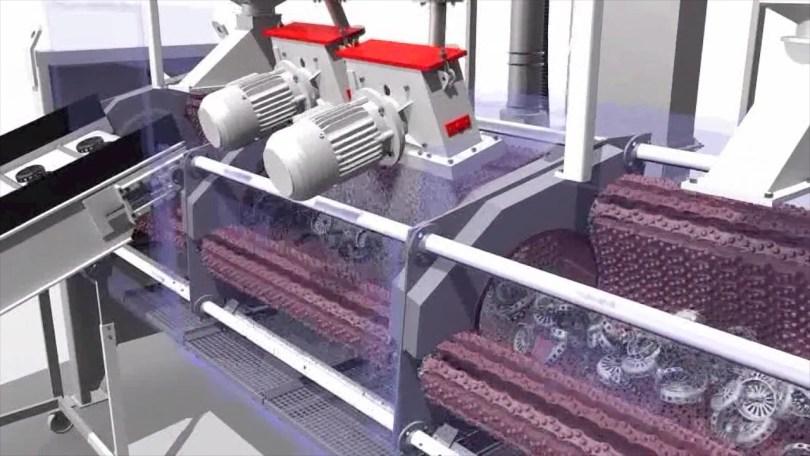Rosler RMBD Continuous Tumble Belt Machine