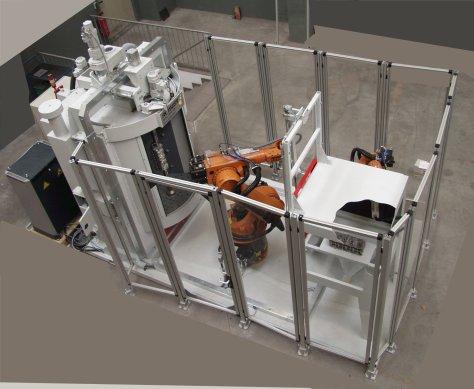 Rosler RWK Swing Chamber Machine