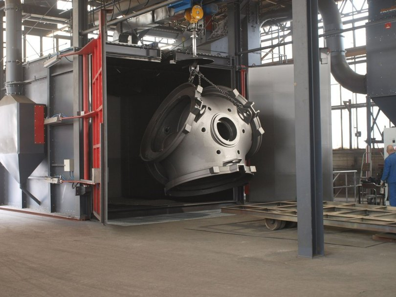 Rosler's RHBE processes large, heavy parts