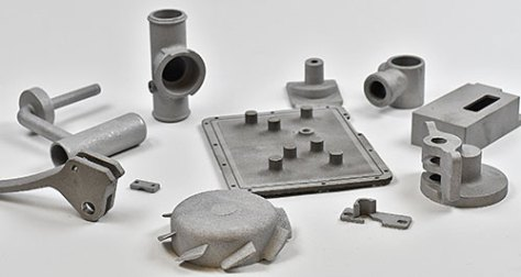 Small investment castings processed by Rosler's RMT