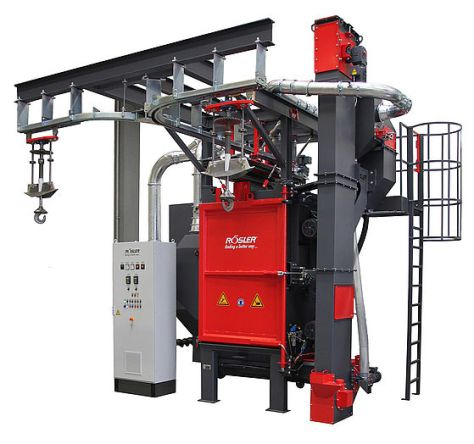 Rosler RHBE Spinner Hanger Machine