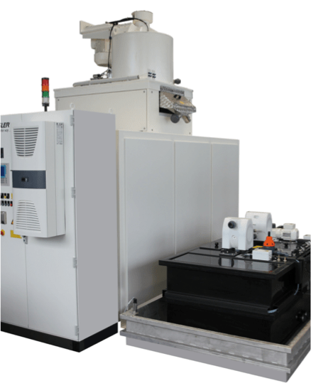 Rosler's z 1000 centrifuge is fully automatic.
