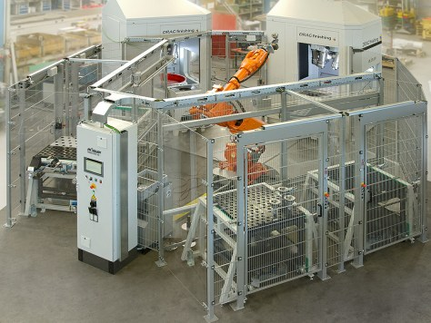 Automated R 6/1000 SF Drag Finishing System