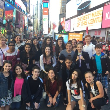 Chorale in Times Square