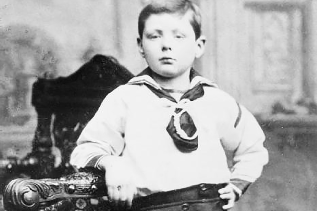 Winston Churchill jako dziecko