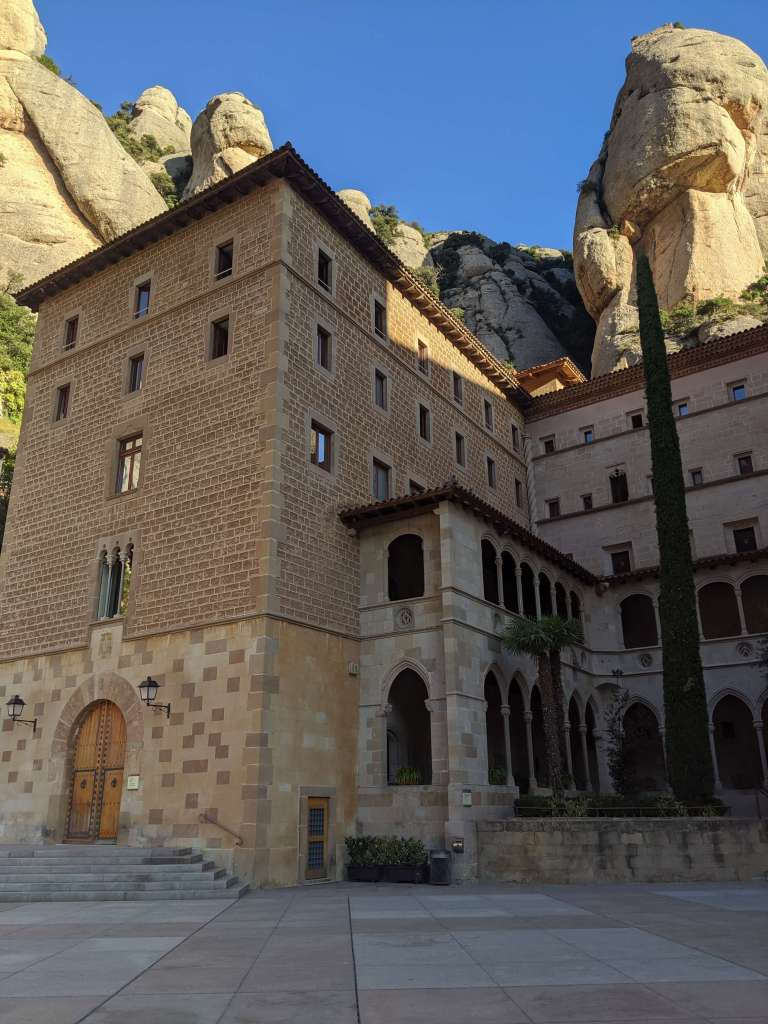 Only original building in the mountain that wasn't destroyed by the Napoleon Army