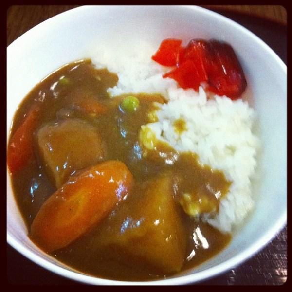 Japanese Vegetarian Curry