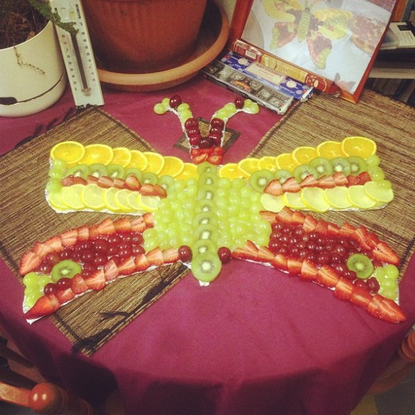 Birthday Fruitterfly