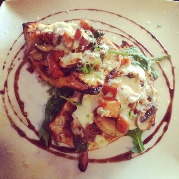 Roasted Pumpkin and Mushroom Bruschetta