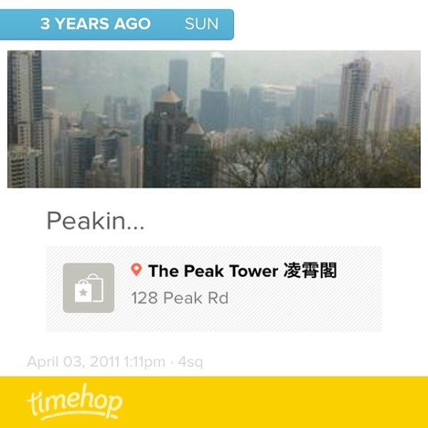 3 years ago today, I was in Hong Kong, on my way to India...