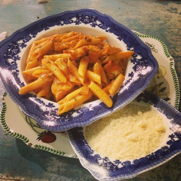 Chicken Genovese pasta