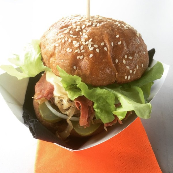 Moreish Reuben Burger