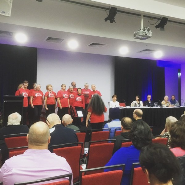 Sydney Trade Union Choir @ Public Service Association Annual Conference 2015
